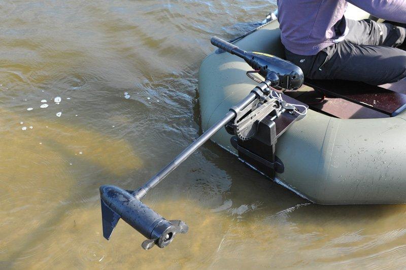Электрические моторы для надувных лодок своими руками