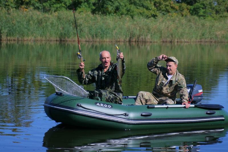 где и как ловить с резиновой лодки
