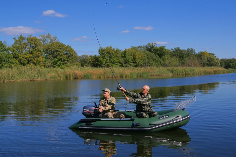 рыбалка на резиновой лодке картинки помощью фальш-окна